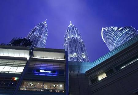 马来西亚地标建筑 - 双子塔