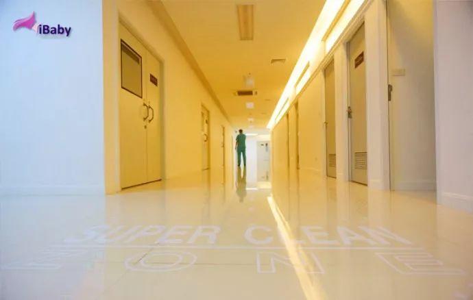 泰国iBaby诊室走廊